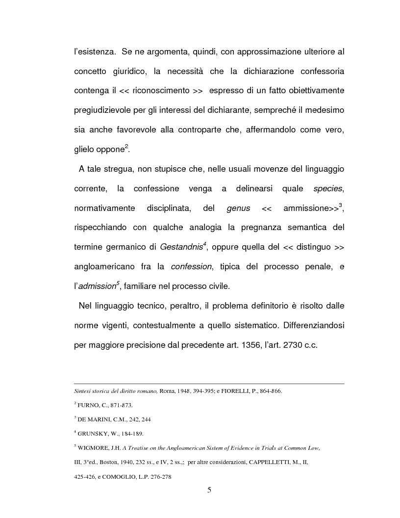 Anteprima della tesi: La confessione nel sistema delle prove legali, Pagina 2