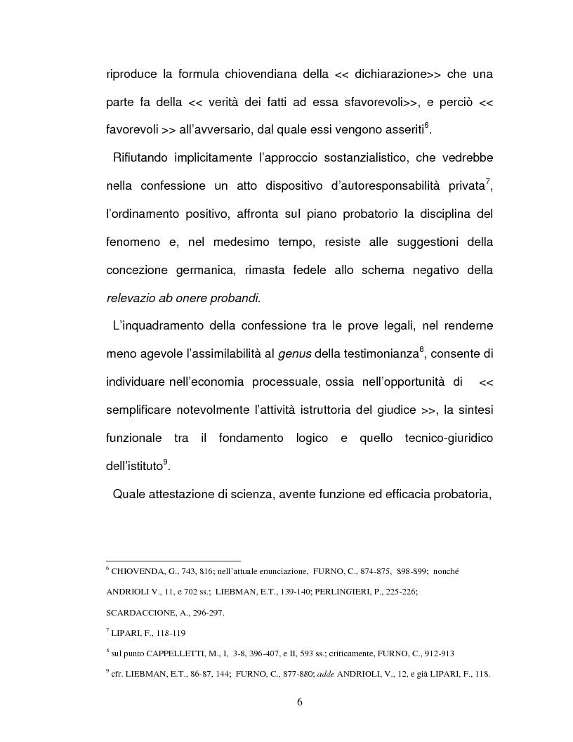 Anteprima della tesi: La confessione nel sistema delle prove legali, Pagina 3