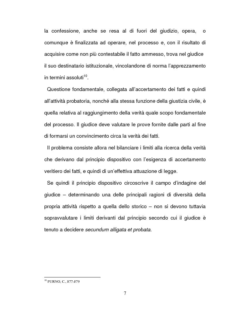 Anteprima della tesi: La confessione nel sistema delle prove legali, Pagina 4