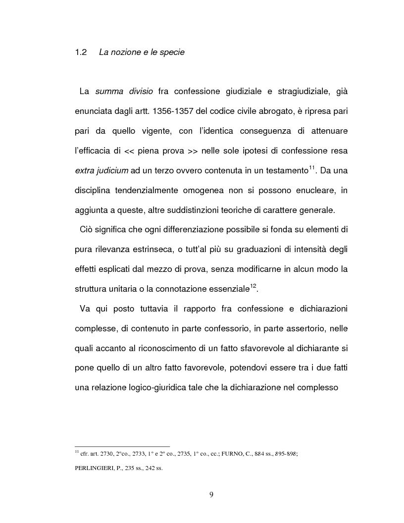 Anteprima della tesi: La confessione nel sistema delle prove legali, Pagina 6