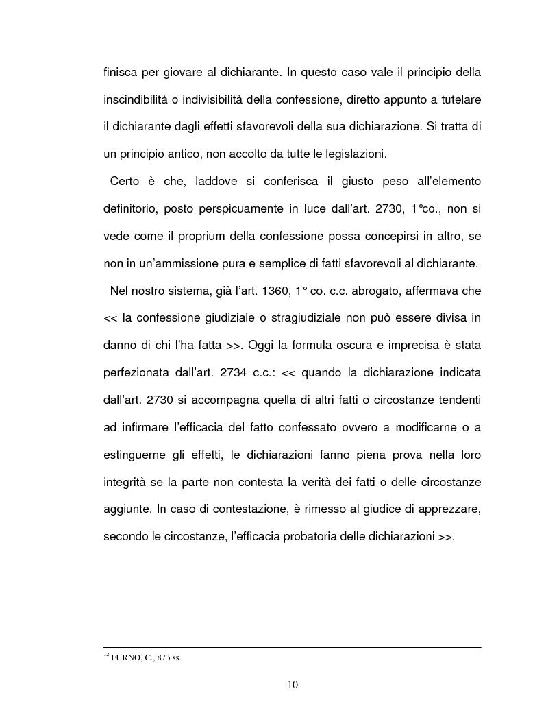 Anteprima della tesi: La confessione nel sistema delle prove legali, Pagina 7