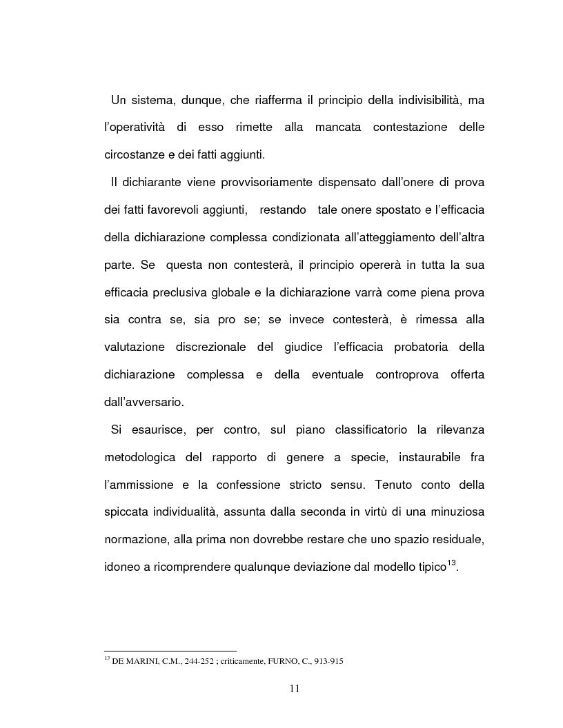 Anteprima della tesi: La confessione nel sistema delle prove legali, Pagina 8