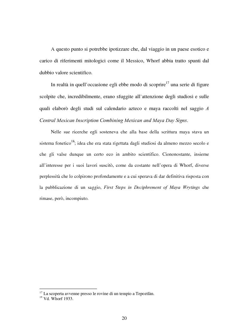 Anteprima della tesi: La relatività linguistica nella prospettiva di E. Sapir e B. l. Whorf, Pagina 15