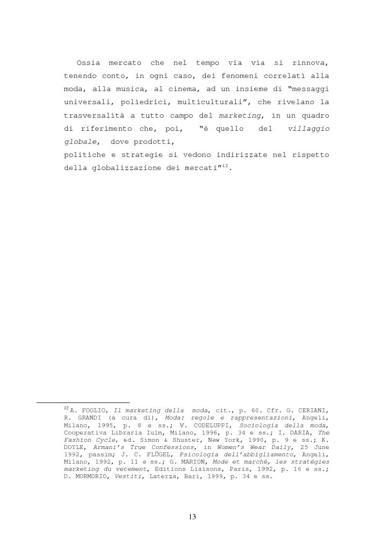 Anteprima della tesi: Il caso Armani. Stilista e imprenditore., Pagina 10