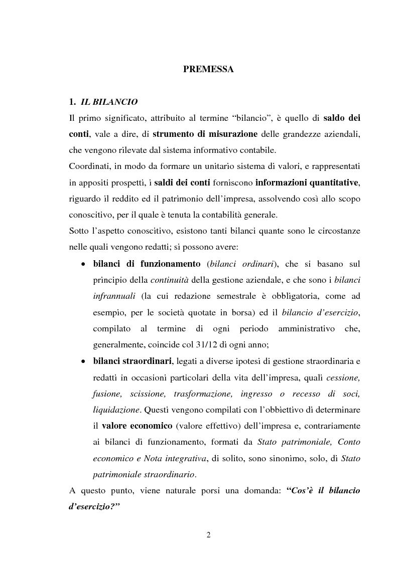 Anteprima della tesi: L'applicazione degli IAS alle aziende alberghiere, Pagina 2