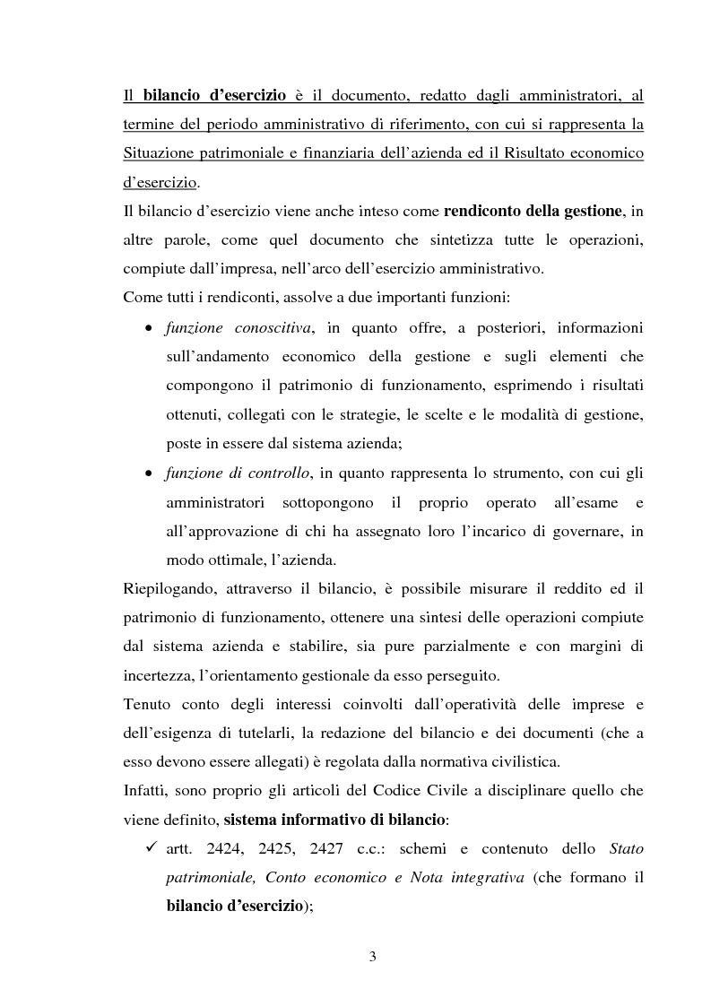 Anteprima della tesi: L'applicazione degli IAS alle aziende alberghiere, Pagina 3