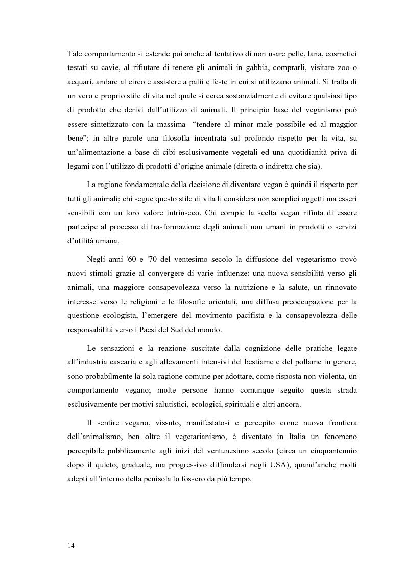 Anteprima della tesi: La scelta vegana e la nuova idea di rispetto della biosfera, Pagina 10