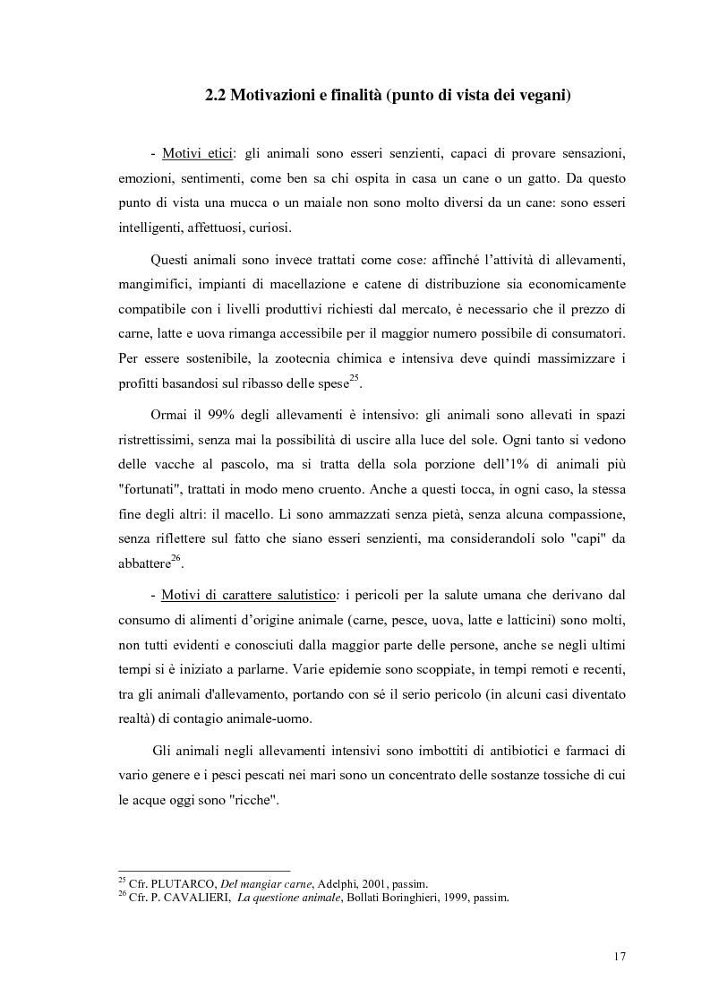 Anteprima della tesi: La scelta vegana e la nuova idea di rispetto della biosfera, Pagina 13