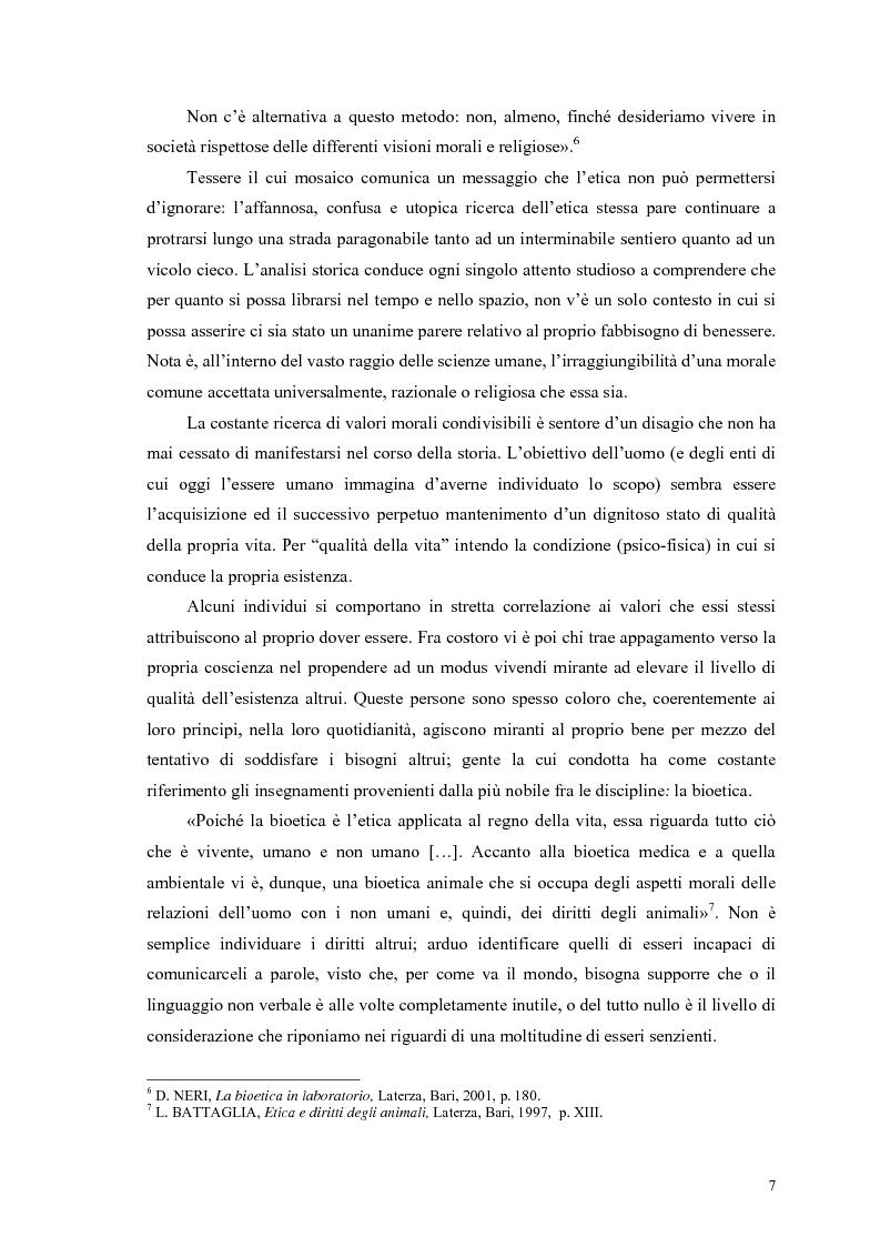 Anteprima della tesi: La scelta vegana e la nuova idea di rispetto della biosfera, Pagina 3