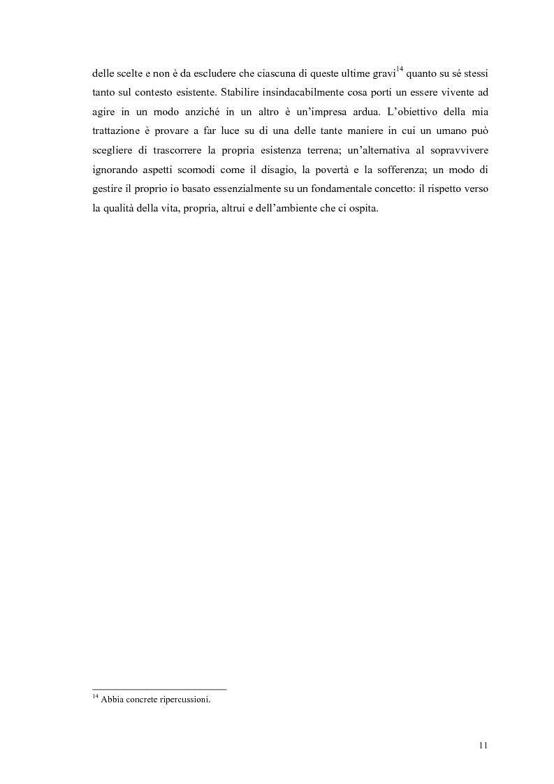 Anteprima della tesi: La scelta vegana e la nuova idea di rispetto della biosfera, Pagina 7