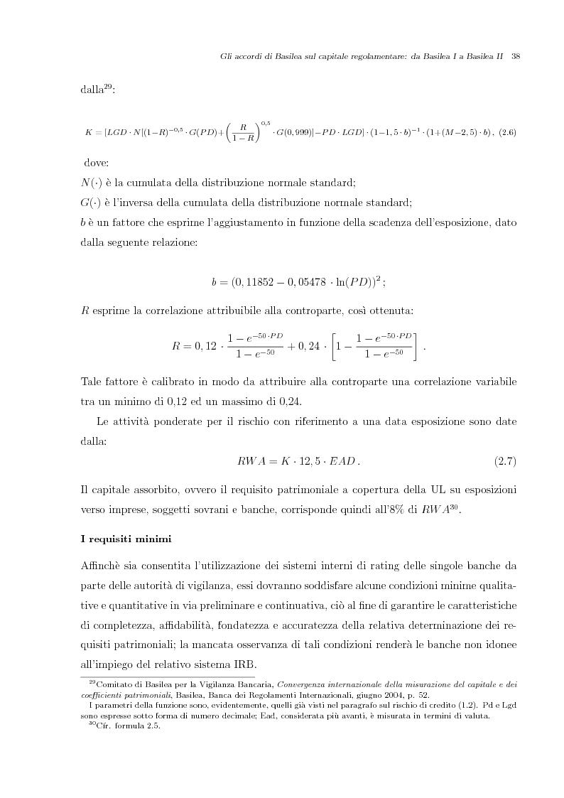 Anteprima della tesi: Misurazione e Controllo del Rischio di Credito, Pagina 5