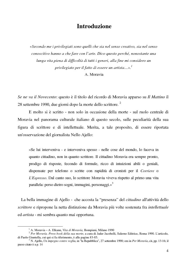 Anteprima della tesi: Agostino di Alberto Moravia, Pagina 1