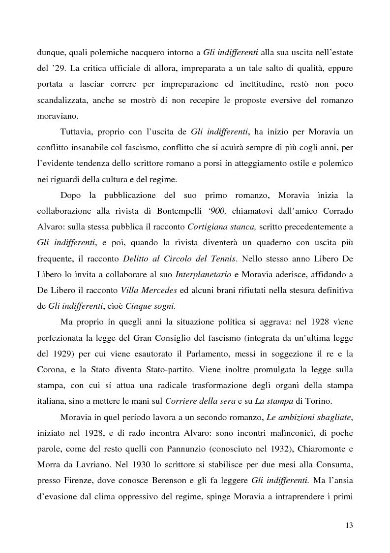 Anteprima della tesi: Agostino di Alberto Moravia, Pagina 10