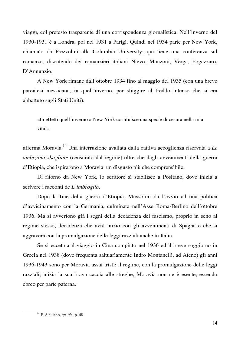 Anteprima della tesi: Agostino di Alberto Moravia, Pagina 11
