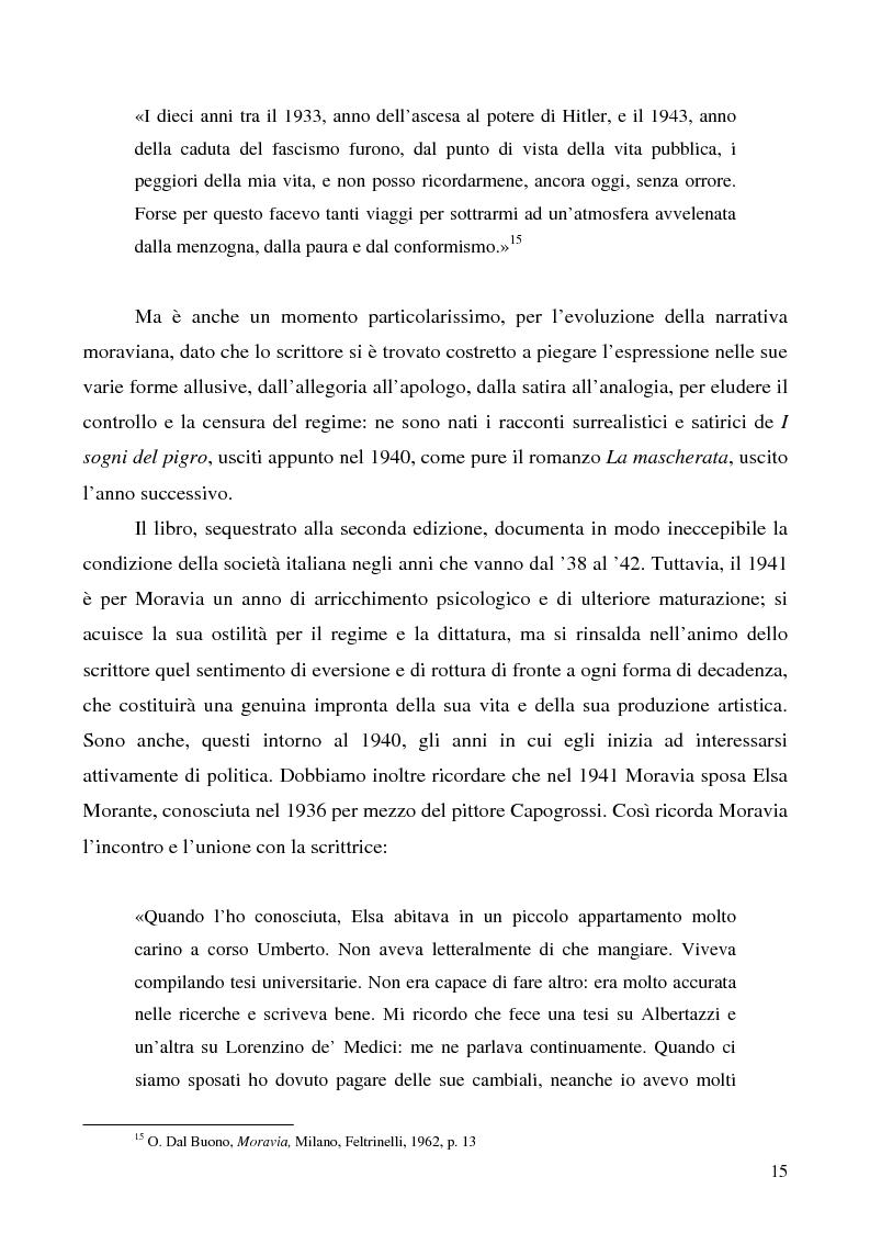 Anteprima della tesi: Agostino di Alberto Moravia, Pagina 12