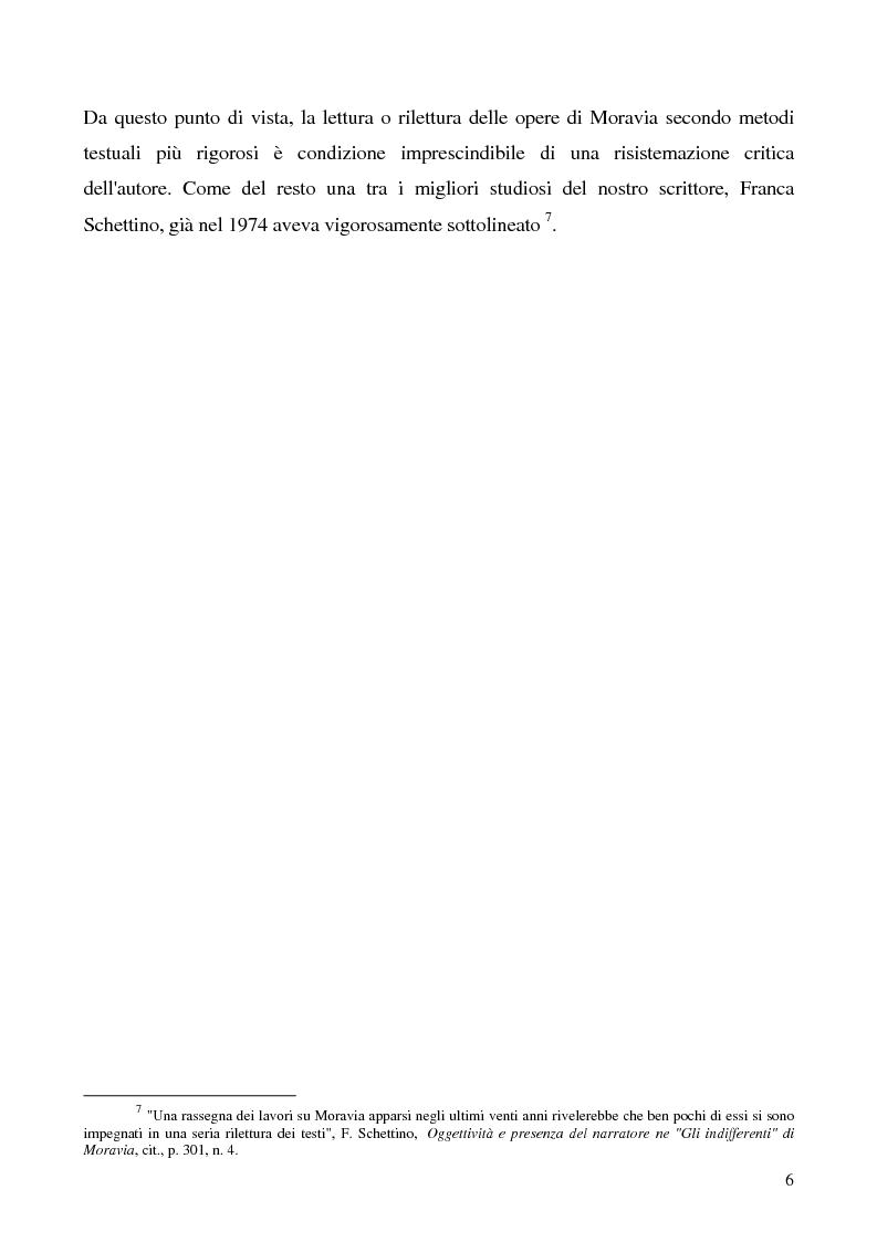 Anteprima della tesi: Agostino di Alberto Moravia, Pagina 3