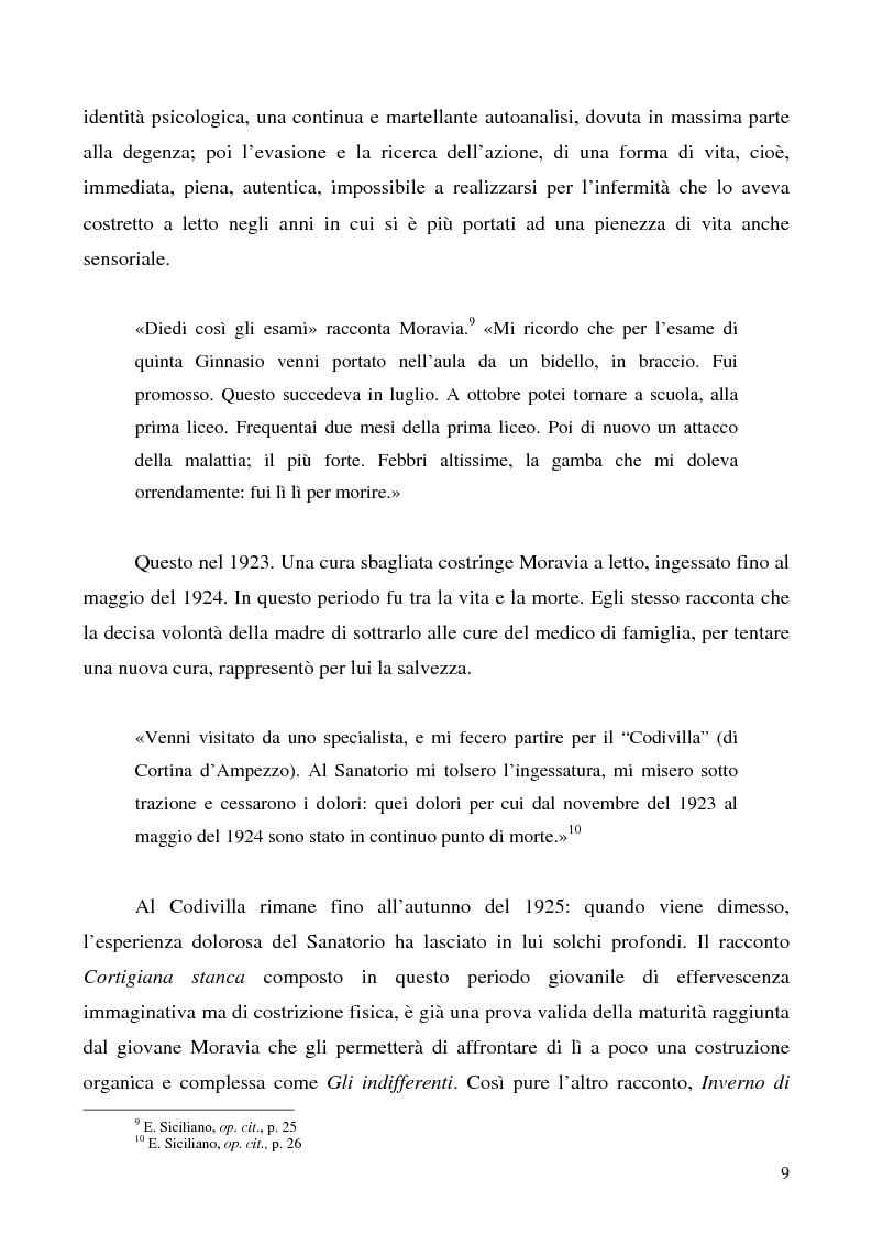 Anteprima della tesi: Agostino di Alberto Moravia, Pagina 6