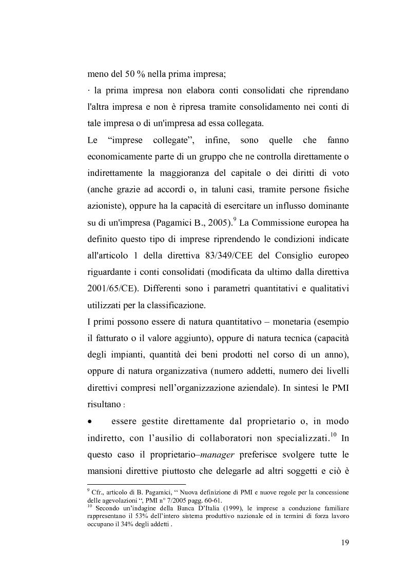 Anteprima della tesi: Basilea2 e la nuova cultura del rating: conseguenze sulle PMI, Pagina 13