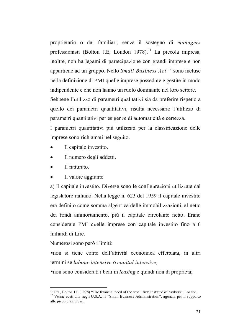 Anteprima della tesi: Basilea2 e la nuova cultura del rating: conseguenze sulle PMI, Pagina 15