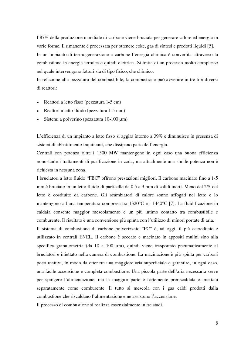 Anteprima della tesi: Effetto delle condizioni di pirolisi di combustibili solidi sulla formazione di specie azotate ed idrocarburiche di interesse ambientale, Pagina 5