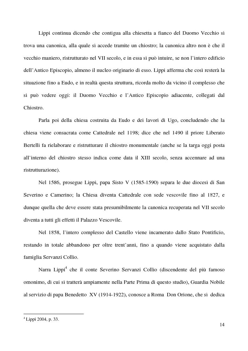 Anteprima della tesi: Raccolta Epigrafica Comunale e Collezione Pascucci: i nuclei storici del Museo Civico Archeologico di San Severino Marche, Pagina 9