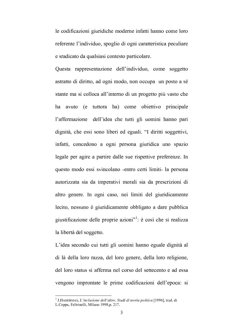Anteprima della tesi: Identità culturale e fondazione dei diritti, Pagina 2