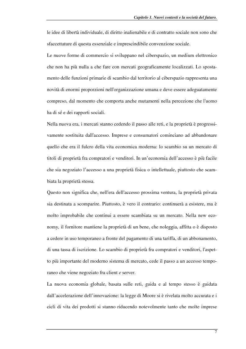 Anteprima della tesi: Nuove prospettive per il telelavoro: analisi dei principali progetti per la pubblica amministrazione, Pagina 12