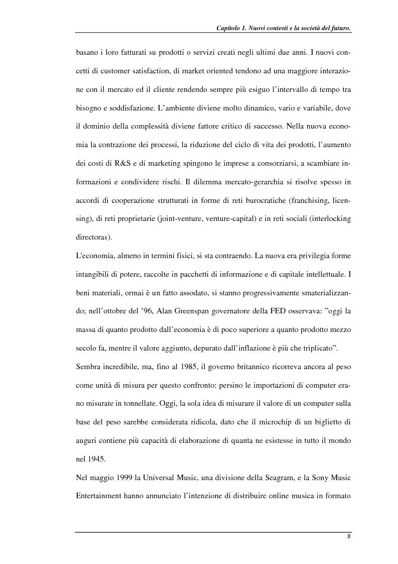 Anteprima della tesi: Nuove prospettive per il telelavoro: analisi dei principali progetti per la pubblica amministrazione, Pagina 13