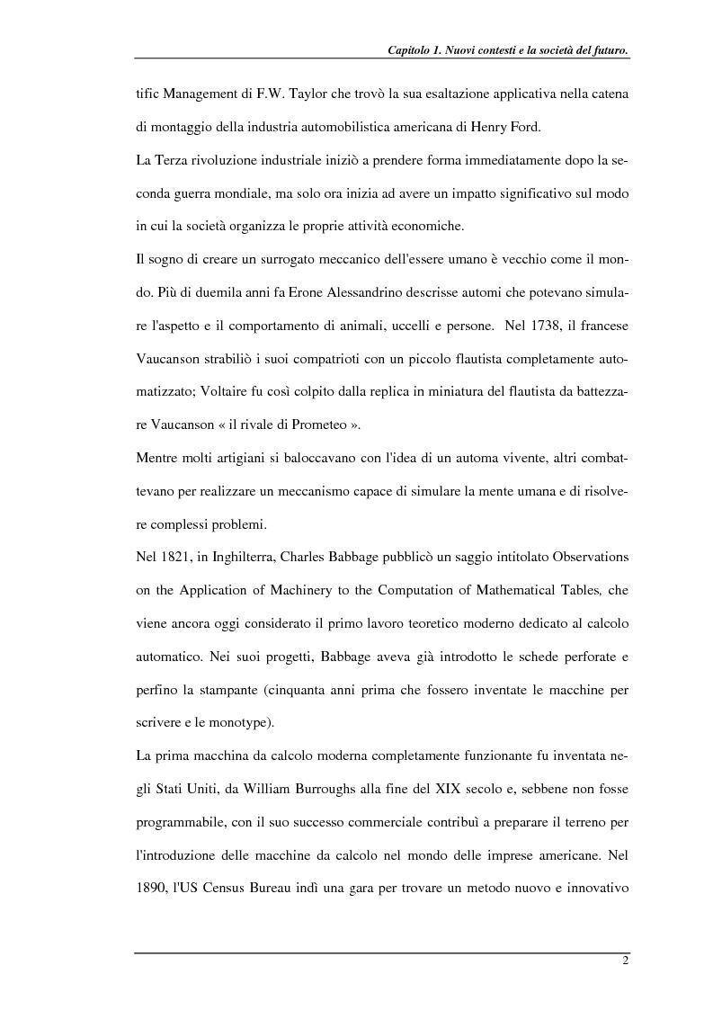 Anteprima della tesi: Nuove prospettive per il telelavoro: analisi dei principali progetti per la pubblica amministrazione, Pagina 7