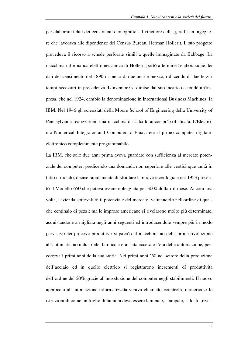 Anteprima della tesi: Nuove prospettive per il telelavoro: analisi dei principali progetti per la pubblica amministrazione, Pagina 8