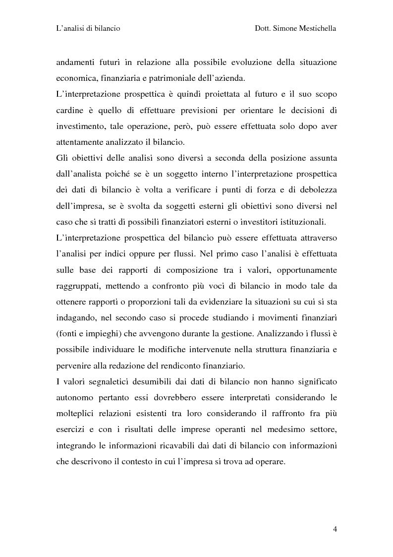 Anteprima della tesi: L'analisi di bilancio e il caso Cementir SpA, Pagina 2