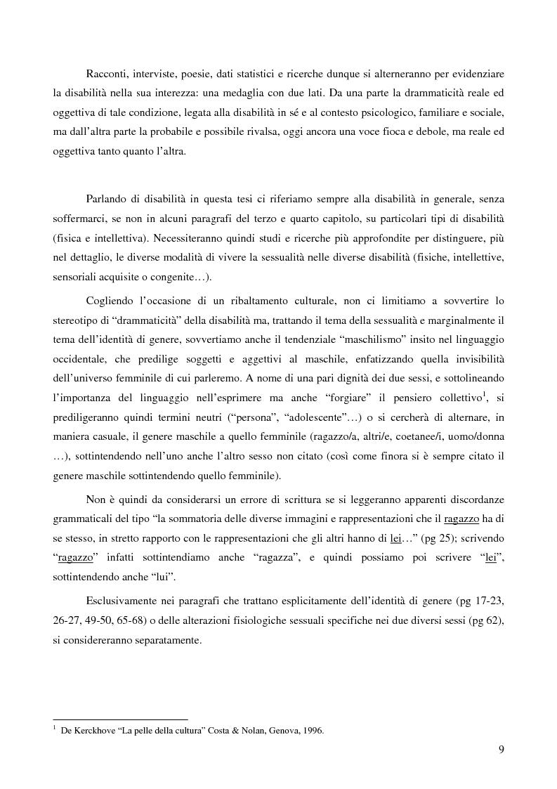Anteprima della tesi: La ''stra-ordinarietà'' sessuale delle persone con disabilità, Pagina 2