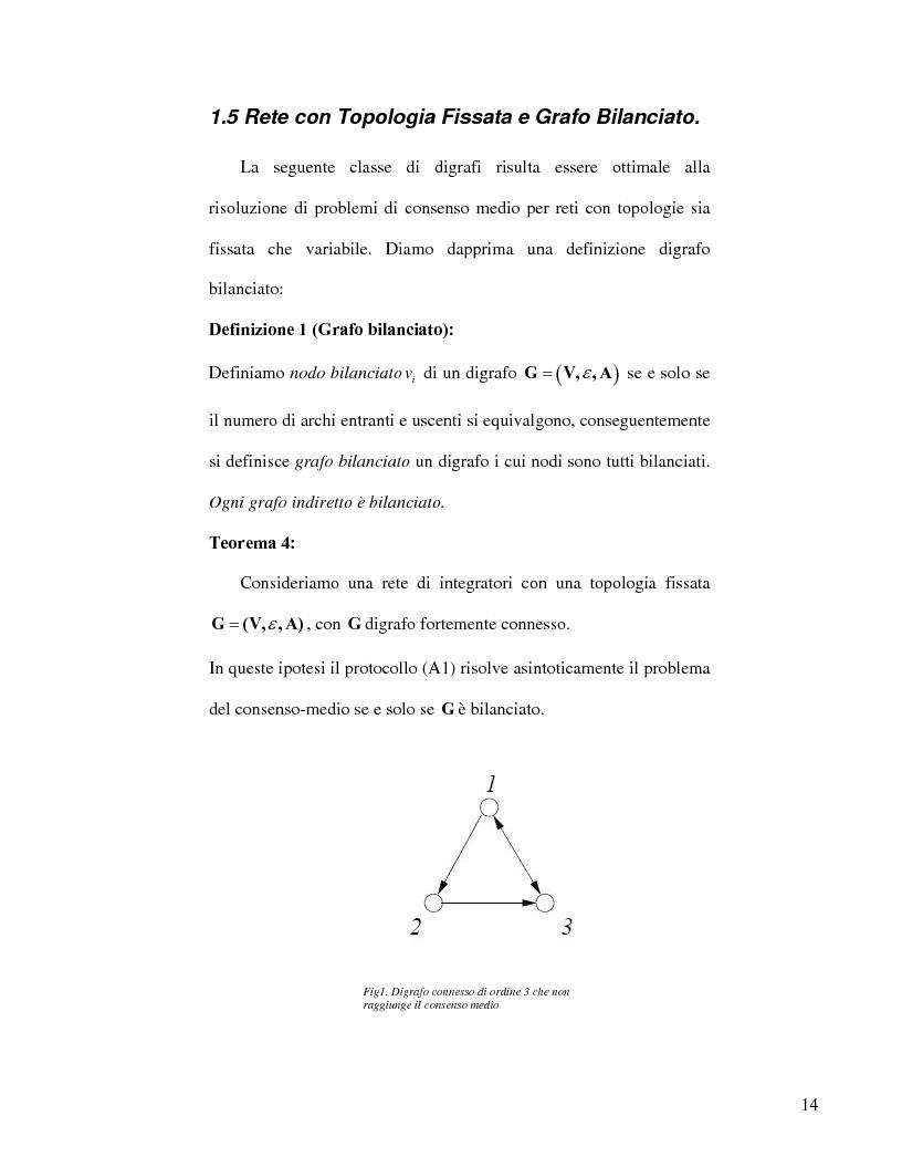 Anteprima della tesi: Strategie di consenso per il filtraggio, la fusione e la stima dei parametri in Reti di Agenti, Pagina 12