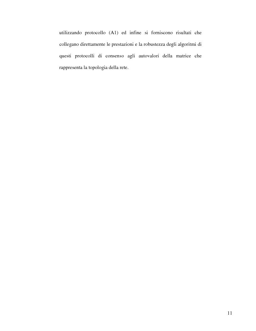 Anteprima della tesi: Strategie di consenso per il filtraggio, la fusione e la stima dei parametri in Reti di Agenti, Pagina 9