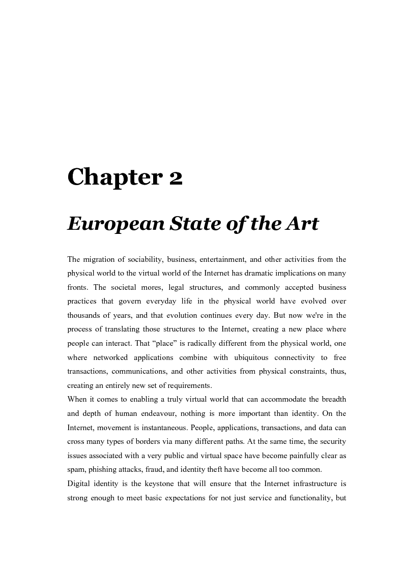 Anteprima della tesi: The eGovernment Digital Credentials, Pagina 3