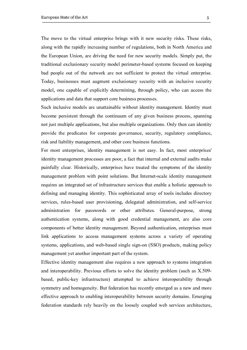 Anteprima della tesi: The eGovernment Digital Credentials, Pagina 5