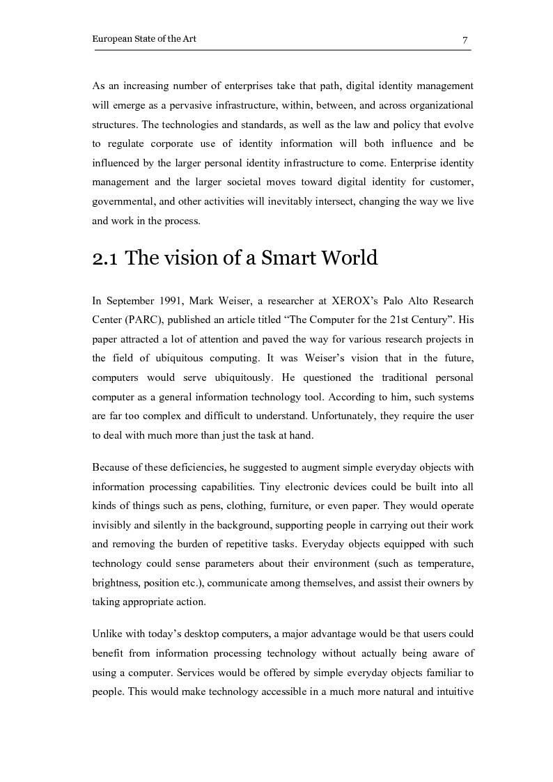 Anteprima della tesi: The eGovernment Digital Credentials, Pagina 7