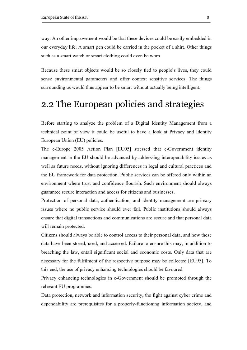 Anteprima della tesi: The eGovernment Digital Credentials, Pagina 8