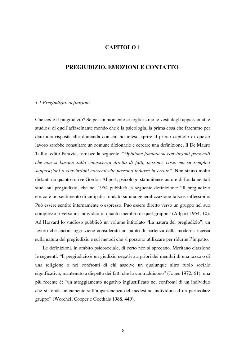 Anteprima della tesi: Fede musulmana e pregiudizio nel bellunese, il ruolo dell'orientamento religioso, delle variabili di personalità e delle emozioni, Pagina 6