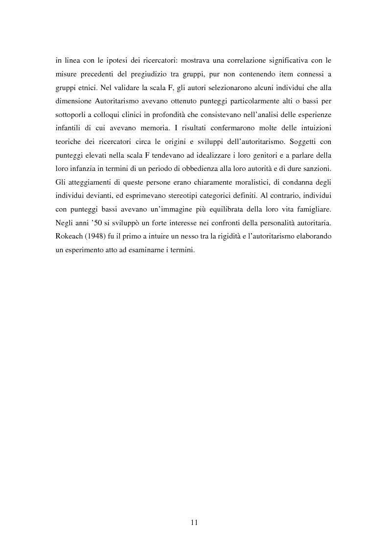 Anteprima della tesi: Fede musulmana e pregiudizio nel bellunese, il ruolo dell'orientamento religioso, delle variabili di personalità e delle emozioni, Pagina 9