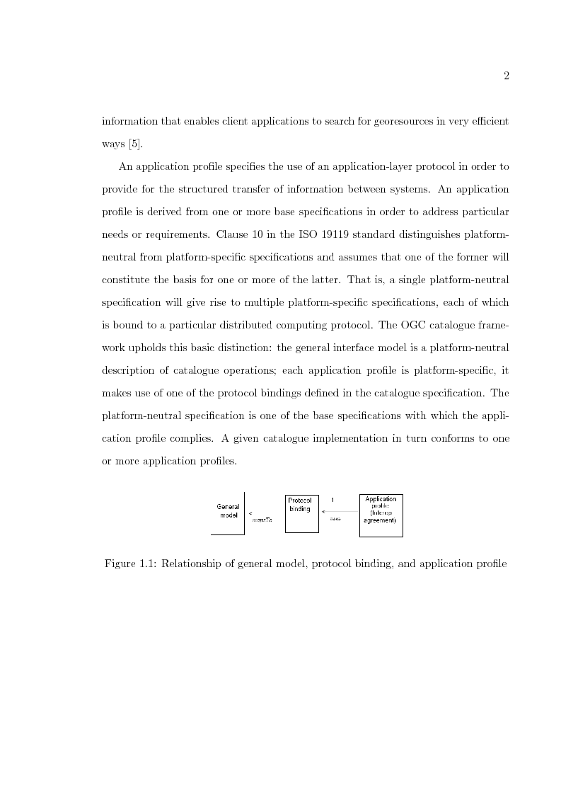 Anteprima della tesi: An analysis about standard conformance of some commercial GIS platforms, Pagina 3