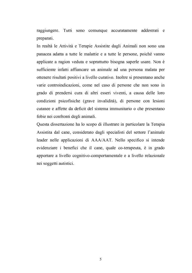 Anteprima della tesi: Il cane come co-terapeuta nell'autismo, Pagina 2