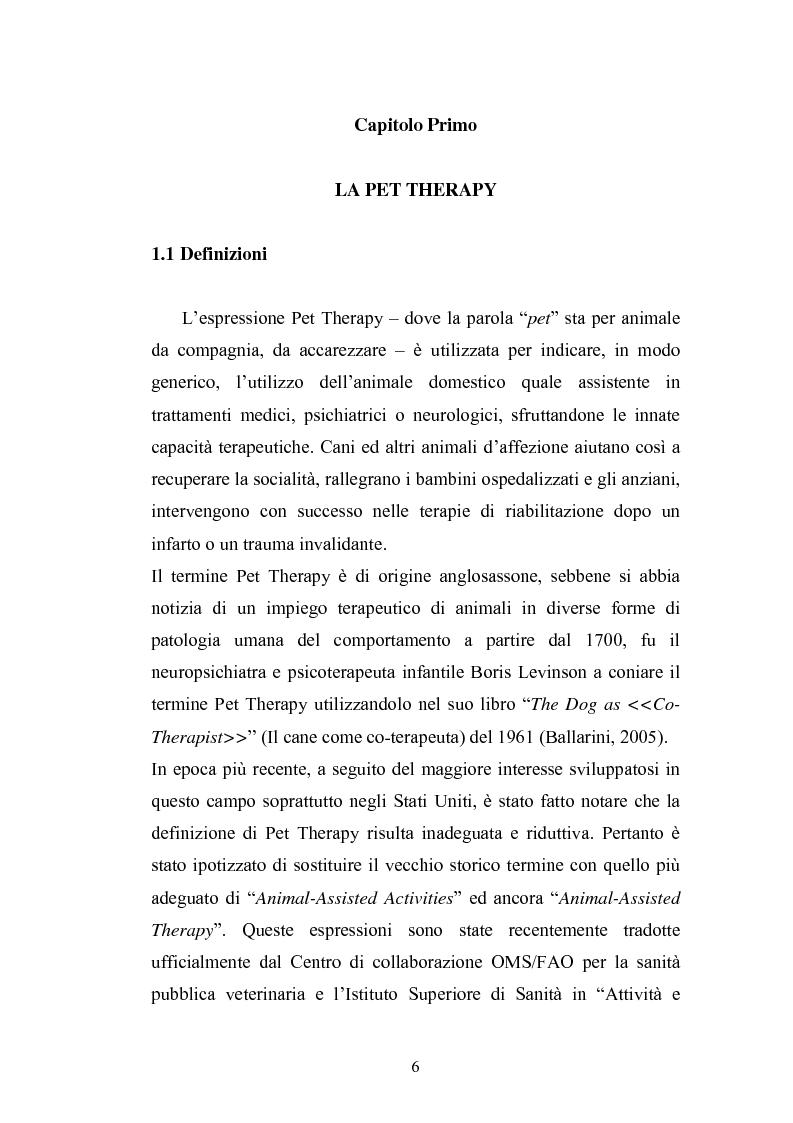 Anteprima della tesi: Il cane come co-terapeuta nell'autismo, Pagina 3