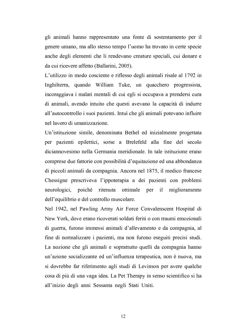 Anteprima della tesi: Il cane come co-terapeuta nell'autismo, Pagina 9