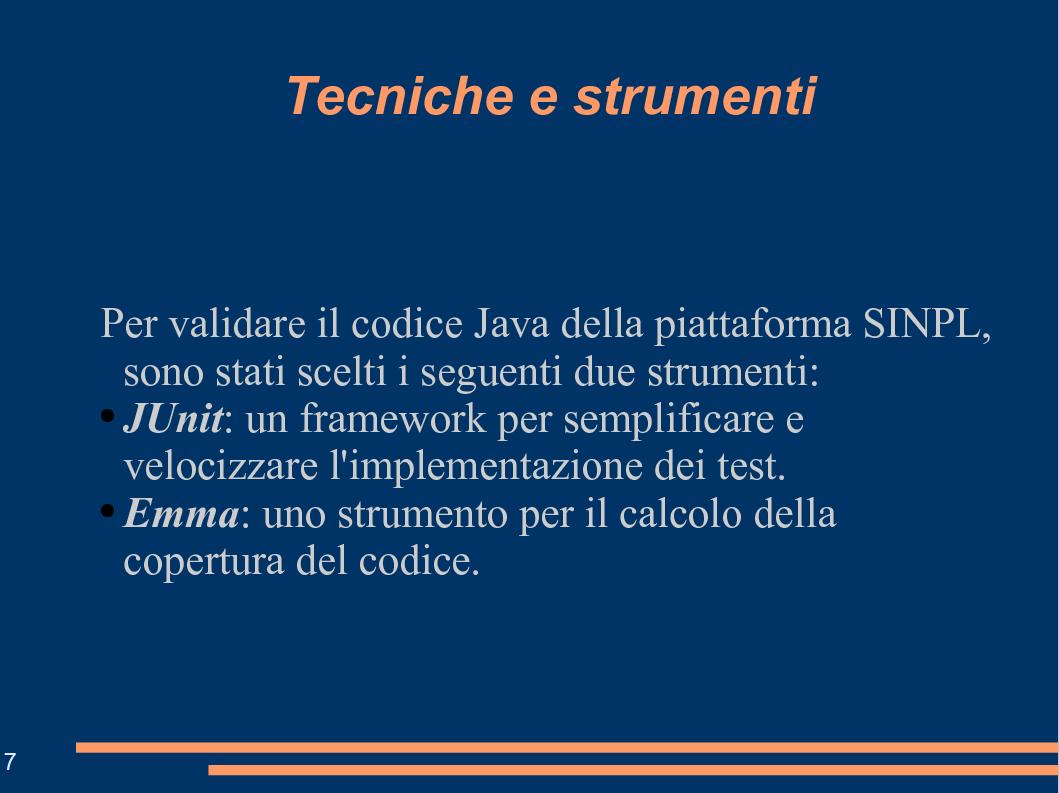 Anteprima della tesi: Tecniche e Strumenti per la Validazione di Codice Java: un Esempio Applicativo, Pagina 7
