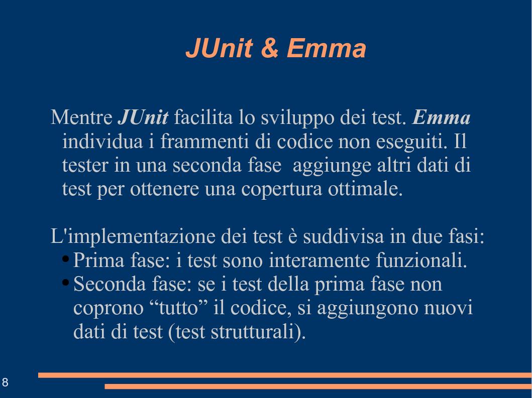 Anteprima della tesi: Tecniche e Strumenti per la Validazione di Codice Java: un Esempio Applicativo, Pagina 8