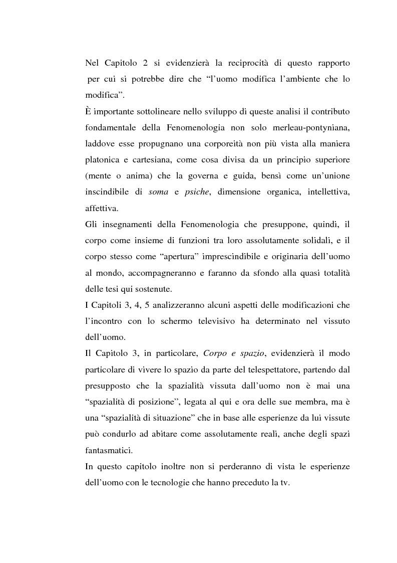 Anteprima della tesi: Corpo e Media, Pagina 2