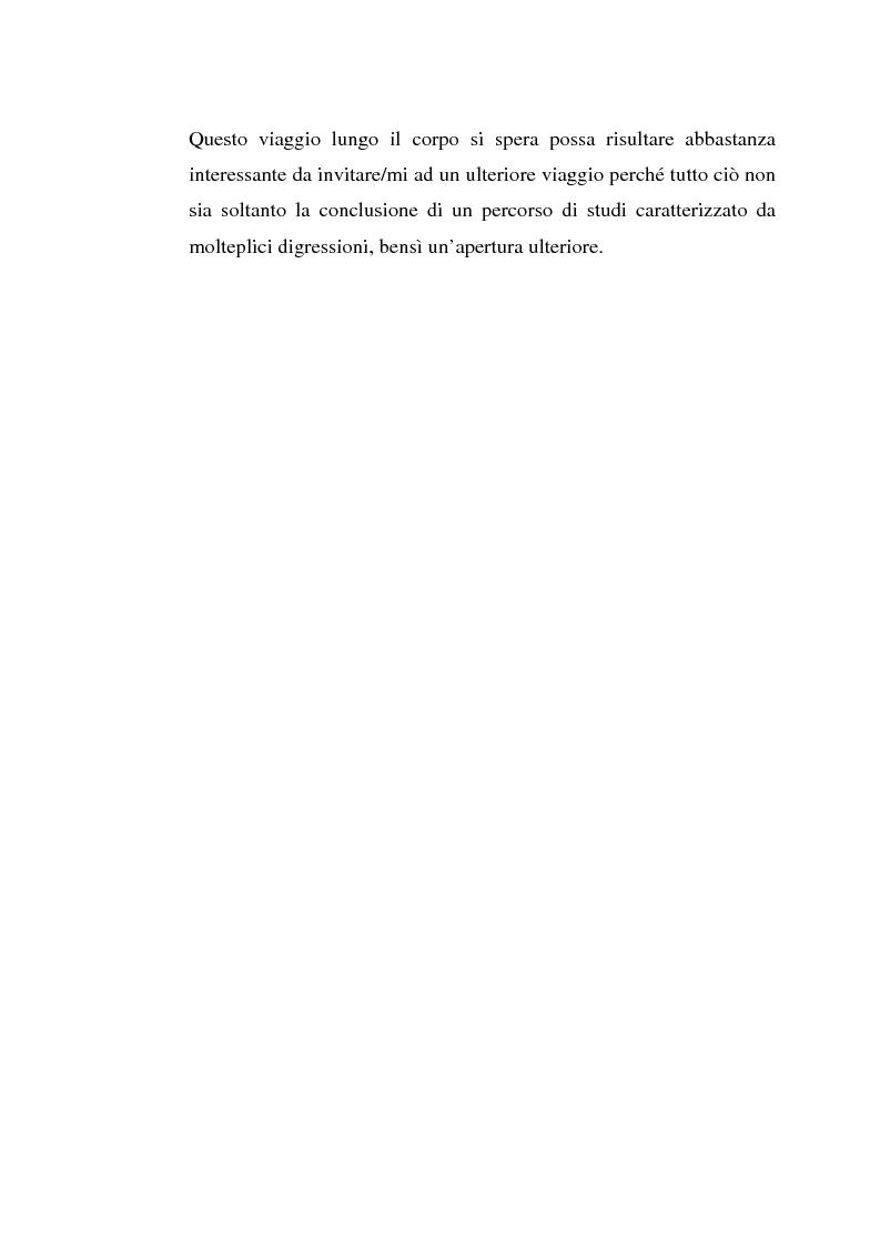 Anteprima della tesi: Corpo e Media, Pagina 4
