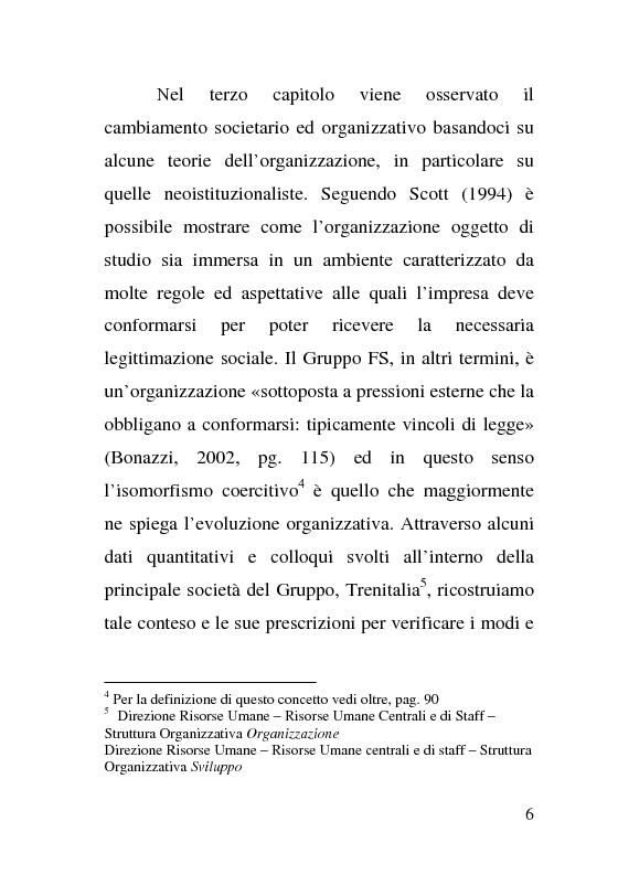 Anteprima della tesi: L'impatto delle politiche europee sulla riorganizzazione delle ferrovie italiane, Pagina 6