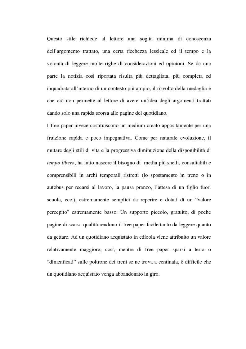 Anteprima della tesi: Le riviste periodiche a distribuzione gratuita, Pagina 13